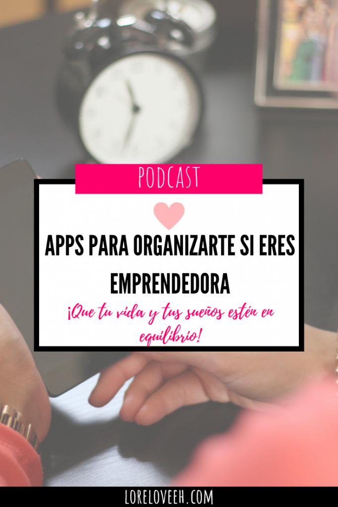 Como organizarte si eres emprendedora