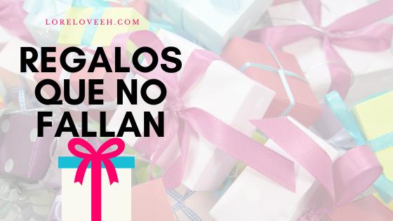 regalos que no fallan